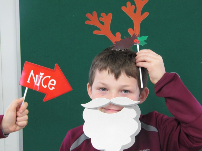 Getting Ready for Christmas!  Check out the Naughty & Nice kids here!!