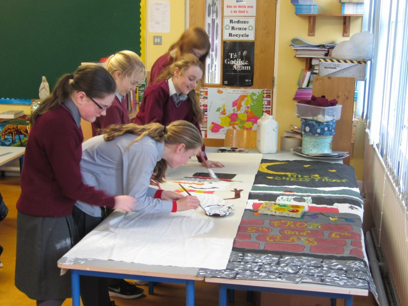 5th & 6th are busy preparing for Christmas