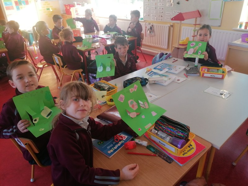 The Heritage Visit to the Junior room