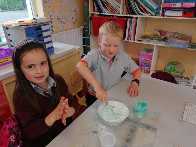 Science Week in the Junior Room!